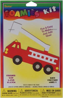 Foam Kit-Makes 1-Fire Truck 6.25