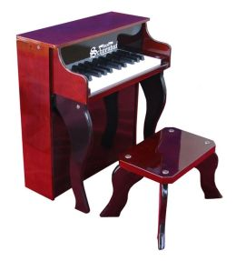 Schoenhut 25 Key Elite Mahogany/Black Spinet