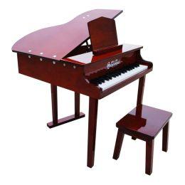 Schoenhut 37 Key Concert Baby Grand Piano - Mahogany