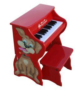Schoenhut Dog Piano Pal W/Bench