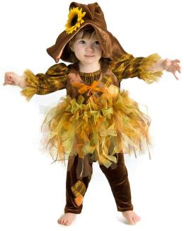 Scout the Scarecrow Infant/Toddler Costume: 6/12 Months