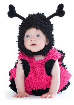 Baby Lady Bug Infant/Toddler Costume: Size 12/18 Months