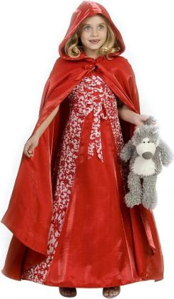 Princess Red Riding Hood Child Costume: Size 6