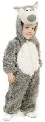 Little Wolf Toddler Costume: 18 Months/2T