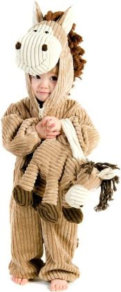 Corduroy Horse Toddler Costume: 18 Months/2T