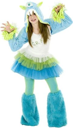 Grrr Monster Tween Costume: Tween