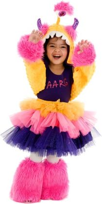 Aarg Monster Child Costume: Large/X-Large