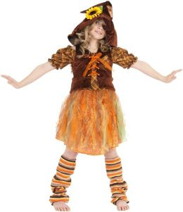 Serena the Scarecrow Child Costume: Size 8