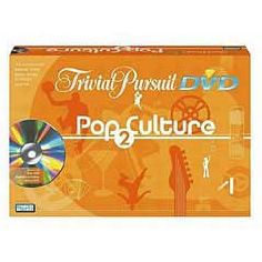 Trivial Pursuit Pop Culture DVD Game - 2nd Edition