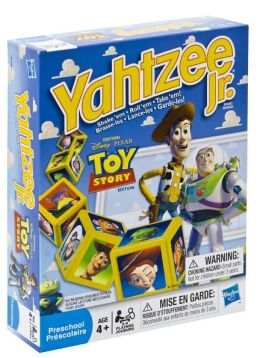 Toy Story Yahtzee Jr