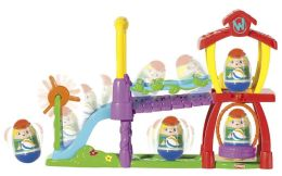 Playskool Weebles Rock N' Wobble Playground Playset