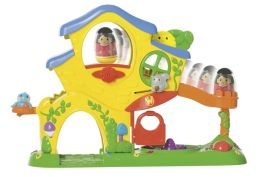 Playskool Weebles Turn and Tumble Home Playset