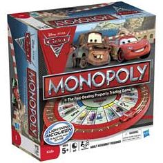 Monopoly - Cars 2 Race Track Game