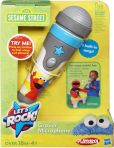 Product Image. Title: Sesame Street Lets Rock Grover Microphone