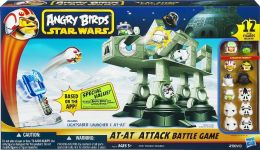 Angry Birds Star Wars Fighter Pods AT AT Attack