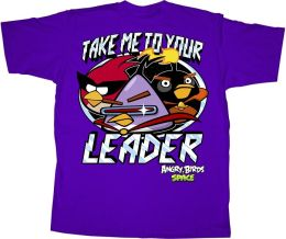 Angry Birds Your Leader Tshirt Extra Large