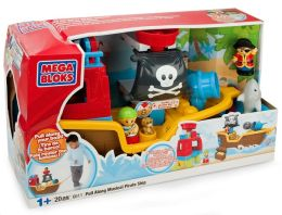 Pull Along Musical Pirate Ship