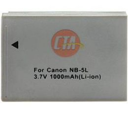 CTA DB-NB5L Rechargeable Battery for Canon NB-5L