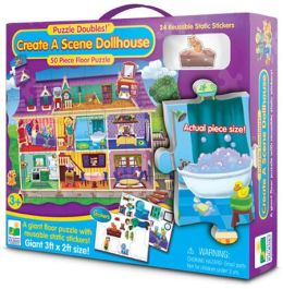 Create A Scene Floor Puzzle Doubles-Dollhouse