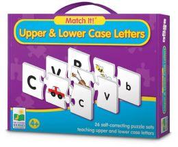 Match It Upper & Lower Case Letters