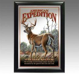 American Expediton MIRR-502 Whitetail Deer Decorative Wildlife Wall Mirror