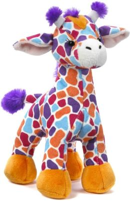 Webkinz Sunset Giraffe 10.5 inch Plush Doll
