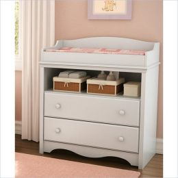 South Shore Andover Changing Table in Pure White