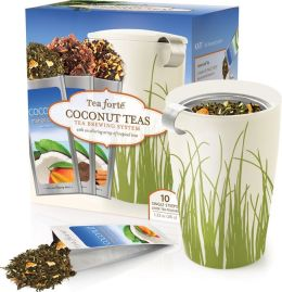 Tea Brewing Gift Set - Coconut Teas