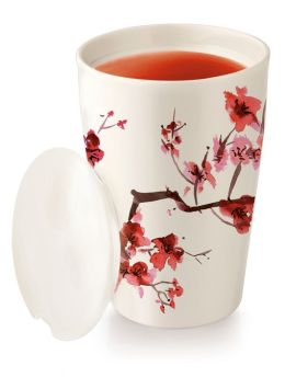 Cherry Blossoms Kati Cup - Tea Brewing System