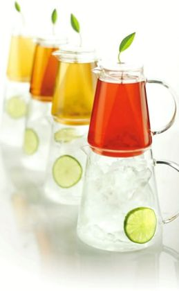 Tea-Over-Iced Pitcher System