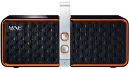 Hercules 4769183 Bluetooth 2.0 Speaker -Black/Orange