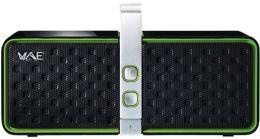 Hercules 4769193 Bluetooth 2.0 Speaker - Black/Green