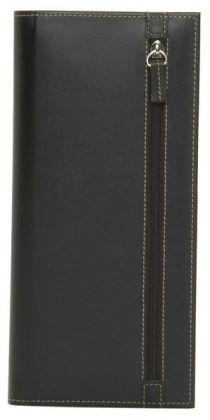 Oasis Black 4up Business Card Case