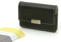 Alta Black Business Card Case