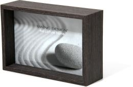 Stratton Charcoal Wood Veneer Depth Frame 4x6
