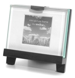 Easel Black Thick Glass Classic Frame Mini 2x2