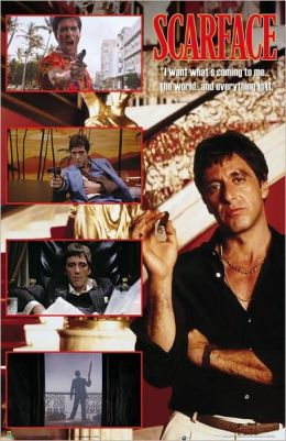 Scarface - What's Coming To Me - Poster
