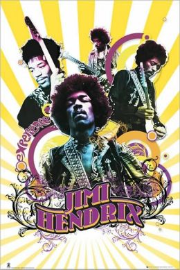 Jimi Hendrix - Collage - Poster