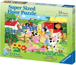 My Little Farm 24 Piece Super Sized Floor Puzzle