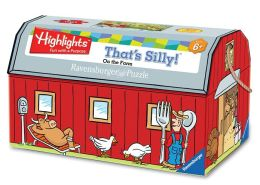 Highlights On the Farm 100 pc Puzzle in Barn Box