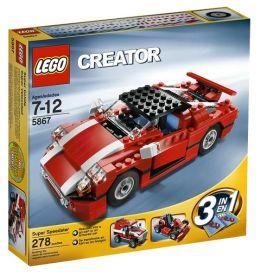 LEGO Creator Red Car 5867