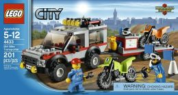LEGO Dirt Bike Transporter - 4433