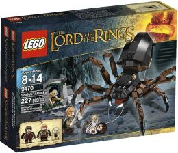 LEGO Lord of the Rings, Shelob Arrives 9470