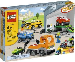 LEGO Fun with Vehicles - 4635