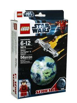 LEGO Naboo Starfighter & Naboo - 9674
