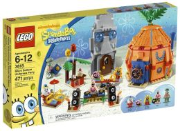 LEGO Bikini Bottom Birthday Party - 3818