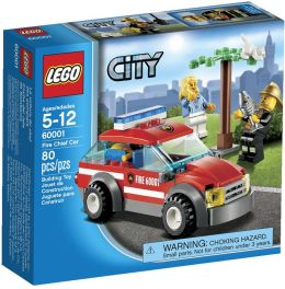 LEGO City Fire Fire Chief Car 60001