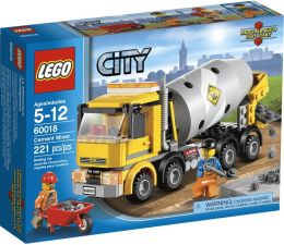 LEGO City Town Cement Mixer 60018