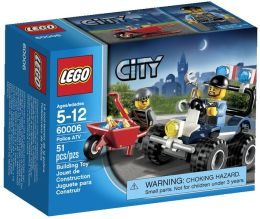 LEGO City Police Police ATV 60006