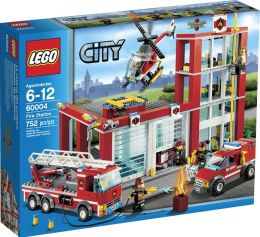 LEGO City Fire Fire Station 60004